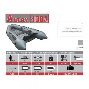 Лодка Алтай 400А (надувное дно)  Тонар_3