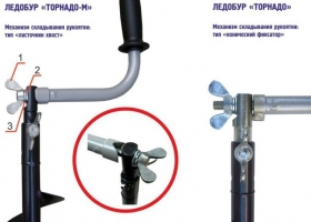 Ледобур ТОРНАДО-М2 (ф150) (левое вращение) LT-150L Тонар_2