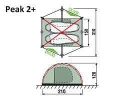 Палатка Peak 2+ RockLand_1