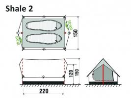 Палатка Shale 2  GreenLand_1