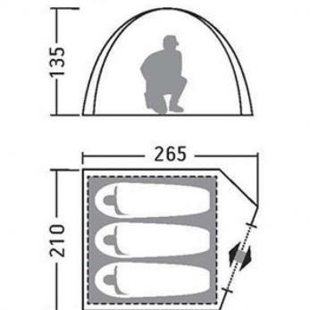 Палатка Эльф 3 V3 Greenell