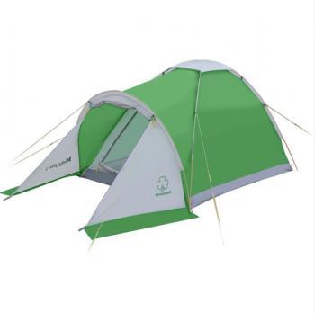 Палатка Моби 2 плюс (зеленый/серый) Greenell
