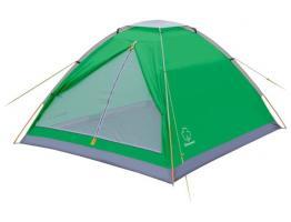 Палатка Моби 2 V2 (зеленый/серый) Greenell_0