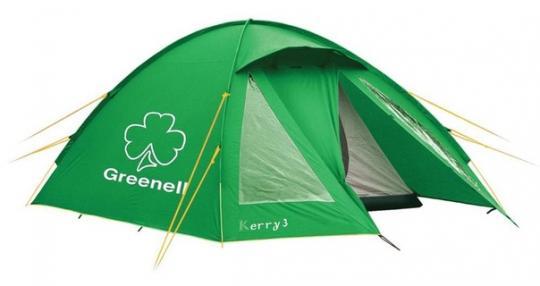 Палатка Kerri 3 V3 (зеленый) Greenell