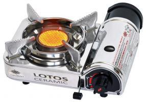 Плита газовая портативная в кейсе LOTOS CERAMIC керамическая (TR-350)