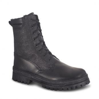 Ботинки Охрана Лето комбинированные (кожа/кирза) ХСН (505)