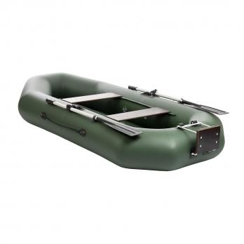 Лодка Шкипер А260нт (навесной транец, надувное дно) Тонар
