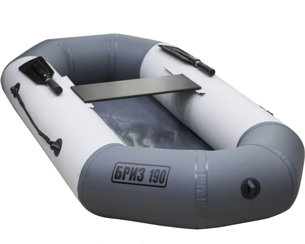 Лодка Бриз 190 (гребки + жесткое сиденье) Тонар