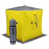 Палатка  зимняя Куб 1,5х1,5 yellow/gray Helios (HS-ISC-150YG)