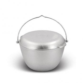 Казан походный 4 литра с крышкой-сковородой (КП40) Кукмор