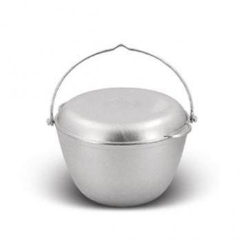 Казан походный 5 литров с крышкой-сковородой (КП50) Кукмор