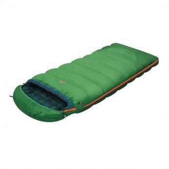 Спальный мешок SIBERIA Plus зеленый Alexika