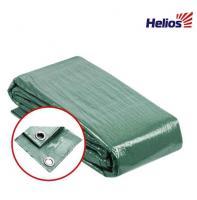 Тент универсальный 6*8 90гр GREEN (HS-GR-6*8-90g) Helios