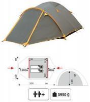 Палатка LAIR 2 (TRT-38) Tramp_3