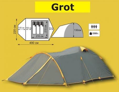 Палатка GROT - 3  Tramp