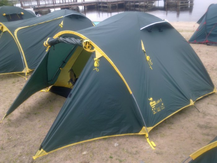 Палатка LAIR 4 (TRT-40)  Tramp