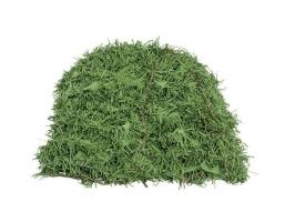 Сеть маскировочная Папоротник (светло зеленый) трава (1,5*2 м) (на сетевой основе)