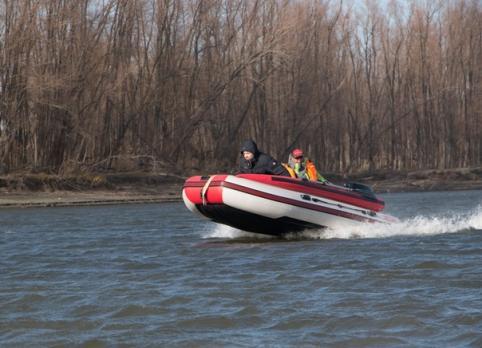 Лодка Алтай 380 JET (F) (надувное дно, фальшборт)/ Boat Altay Jet M380AS Тонар