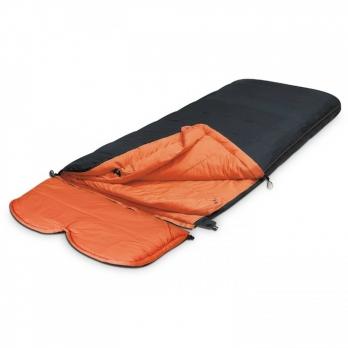 Спальный мешок OMEGA Platinum черный Alexika