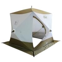 Палатка зимняя КУБ Премиум 1,8х1,8м (утепленная) Следопыт