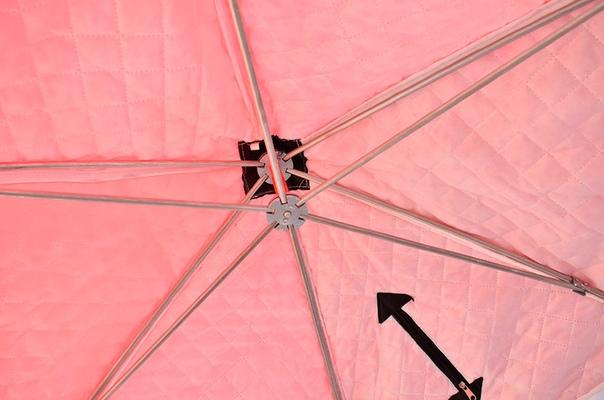 Палатка-зонт для зимней рыбалки Кедр-4, трёхслойная (арт. PZ-06)
