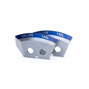 Ножи HELIOS 130(L) (полукруглые - мокрый лед) левое вращение NLH-130L.ML