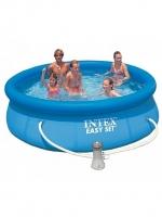 Бассейн Easy Set 3,05х0,76м +фильтр-насос 220В (28122) INTEX
