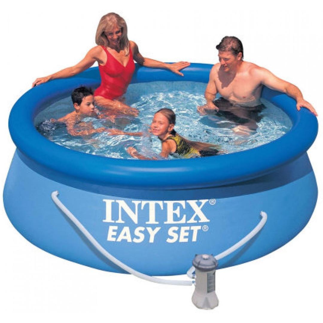 Бассейн Easy Set 2,44х0,76м +фильтр-насос 220в (28112) INTEX