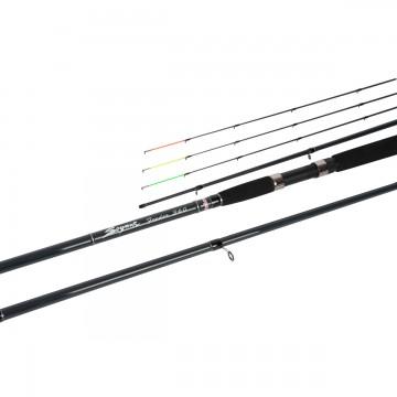 Удилище фидерное Seymur Feeder 360, 3.6m, 3+3sec., Up to 180g (HS-SF-360/180) Helios
