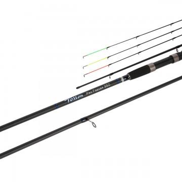 Удилище фидерное Tessen Pro Feeder 360, 3.6m, 3+3sec., Up to 120g (HS-TF-360/120) Helios