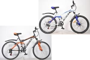 Велосипед горный 24 Круиз 312 V-brake  SIBVELZ
