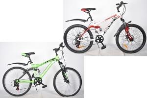 Велосипед горный 24 Круиз 312 Disc SIBVELZ