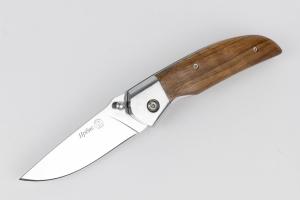 Нож ИРБИС складной дер. орех, гарды (81636) Кизляр