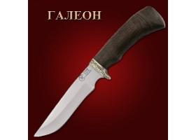 Нож ГАЛЕОН (ков. 95х18, венге) Семин
