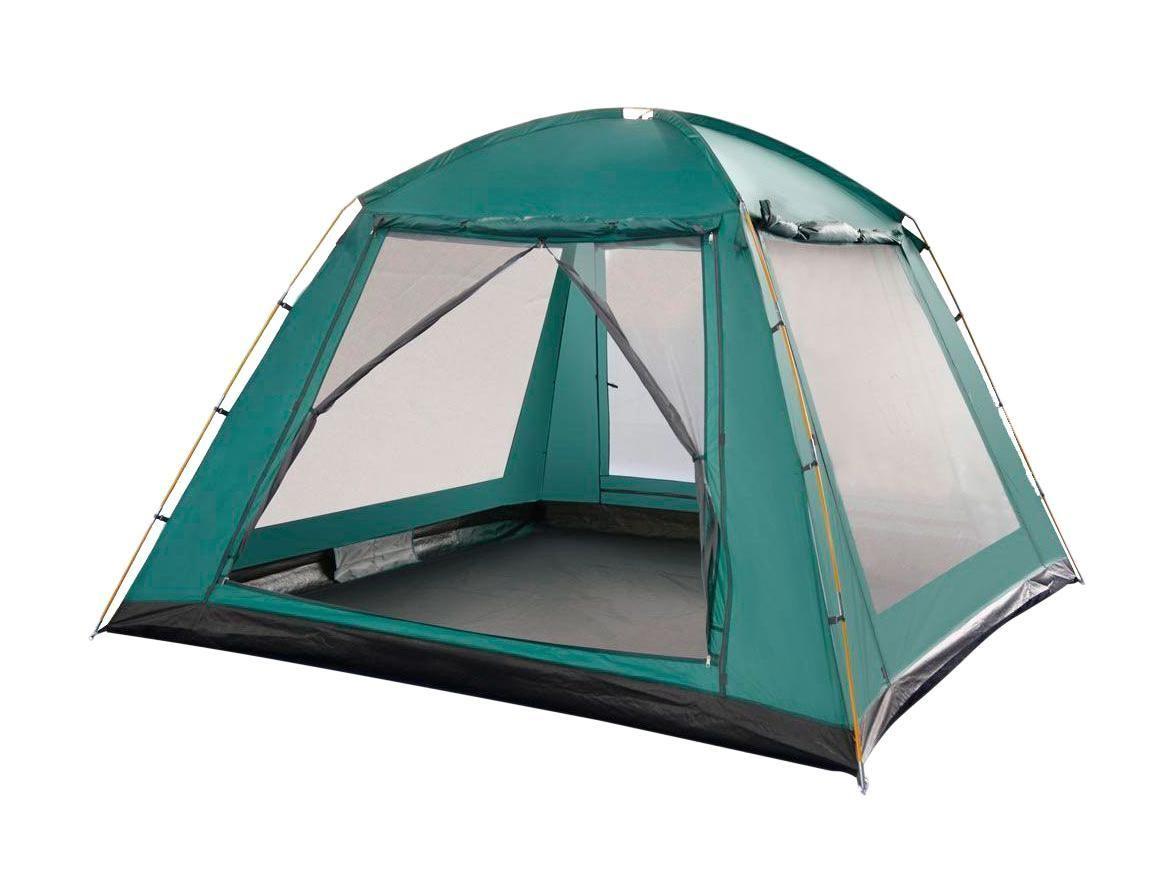 Палатка НОРМА зеленый тент Greenell