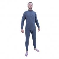 Комплект Thermo-Fleece флис на молнии серый Helios