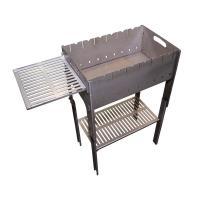 Мангал разборный со столиком и подставкой под казан Тонар (2мм, сумка)_2