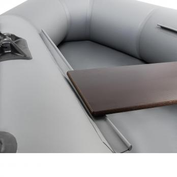 Лодка Шкипер А280НТ (надувное дно, навесной транец) Тонар