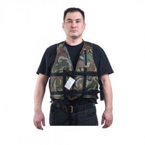 """Жилет страховочный """"Рафт"""" с подголовником КМФ. Белый Камень_0"""