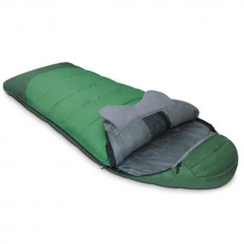 Мешок спальный FORESTER зеленый Alexika