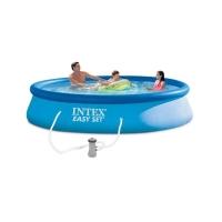 Бассейн Easy Set 3,96x0,84м +фильтр-насос 220в (28142) INTEX