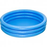 Бассейн Голубой 3 кольца 1,68х0,38м от 3 лет INTEX (58446) INTEX