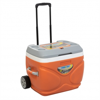 Изотермический контейнер на колесах PRUDENCE 66л оранжевый TPX-3008-66-O PINNACLE