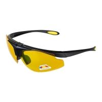 Очки поляризационные в чехле (желтый) (PR-OP-9419-Y) Premier Fishing