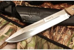 Нож разделочный Егерский дерево