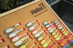 Рыбка поролоновая не оснащенная под офсет 105 мм Helios