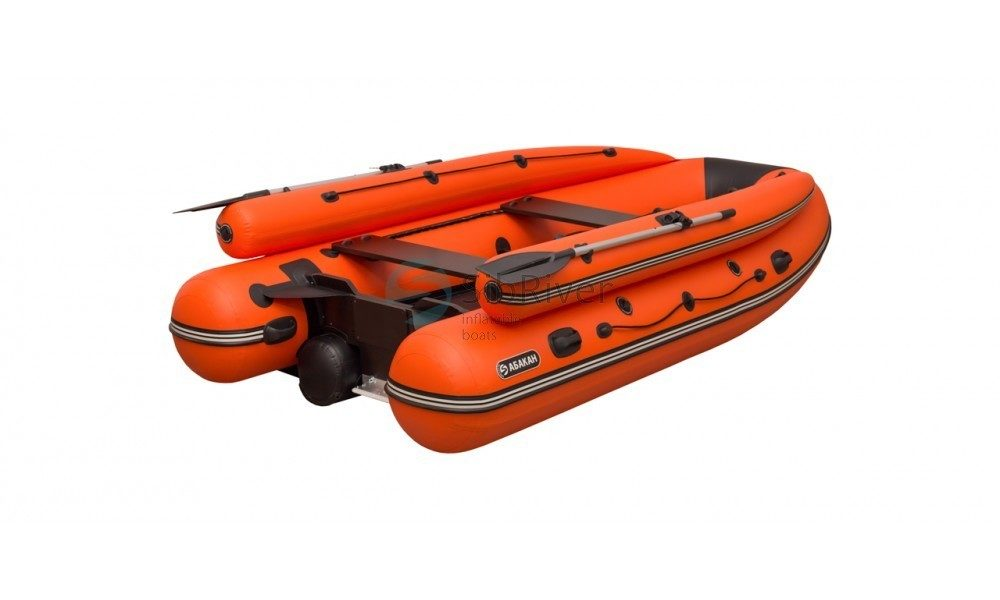 Лодка Абакан-420 Jet (надувное дно) SibRiver