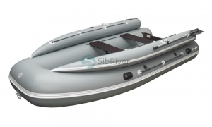 Лодка Абакан-430 Jet (надувное дно) SibRiver_5
