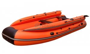 Лодка Абакан-430 Jet (надувное дно) SibRiver_2