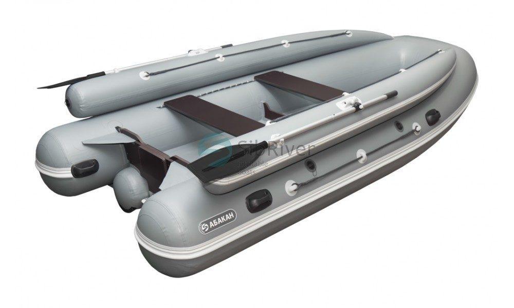 Лодка Абакан-430 Jet (надувное дно) SibRiver